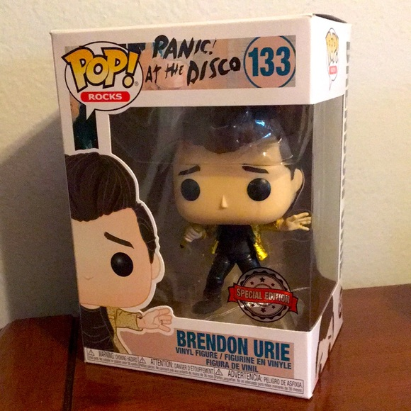 Funko Pop- Brendon Urie- Special Edition. #133